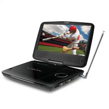 9 inch Portable DVD/CD/MP3 Player with ATSC Digital TV