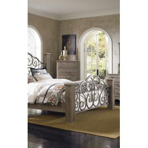 Metal Panel Headboard/footboard, 5/0