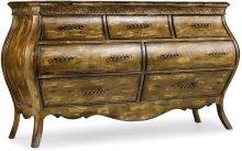 Sanctuary Seven Drawer Dresser