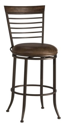 Terrell Commercial Swivel Counter Stool
