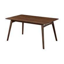 "Emerald Home Simplicity Rectangular Dining Table 60"" X 36"" X 30"" Walnut D550-12"