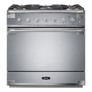 "AGAStainless Steel 36"" AGA Elise Dual Fuel Range"