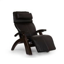 "Perfect Chair PC-LiVE "" - Espresso Premium Leather - Dark Walnut"