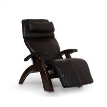 "Perfect Chair PC-LiVE "" - Espresso Premium Leather - Dark Walnut"