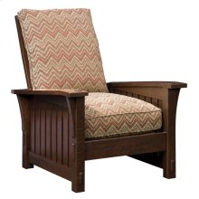 Loose Cushion Slatted Morris Chair