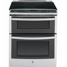 "30"" Slide In Double Oven Electric True Convection Range"