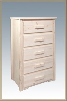 Homestead 5 Drawer Chest of Drawers
