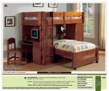 Hartford II Junior Loft Twin/Twin Bed Set