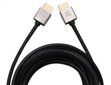 11.5' Super Slim HDMI Cable; Short connector and flexible design