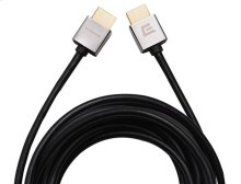 11.5' Super Slim HDMI Cable; Short connector and flexible design