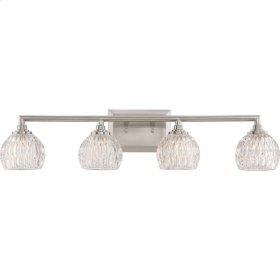 Serena Bath Light in Brushed Nickel