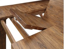 Emerald Home Chambers Creek Gathering Height Dining Table Brown D412-13base
