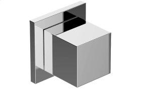 M-Series Square Three-Way Diverter Valve Trim Plate and Handle