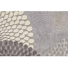 Graphic Illusions Gil04 Gry Rectangle Rug 27'' X 18''
