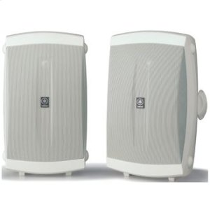 YamahaNS-AW350 White High Performance Outdoor 2-way Speakers