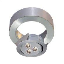 Tiro Collar 3 Light Tiro Conversion ring for J-Box in Brushed Aluminum