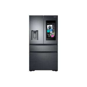 Samsung Appliances22 cu. ft. Family Hub Counter Depth 4-Door French Door Refrigerator in Black Stainless Steel