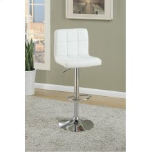 F1566 / Cat.19.p62- ADJUSTABLE BARSTOOL WHT