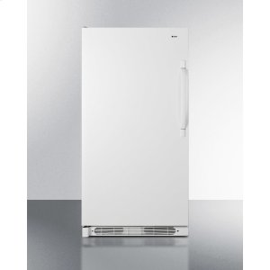 SummitLarge Capacity All-refrigerator With Frost-free Operation and Fan-forced Cooling; Left Hand Door Swing