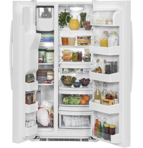 GE® 23.2 Cu. Ft. Side-By-Side Refrigerator [OPEN BOX]