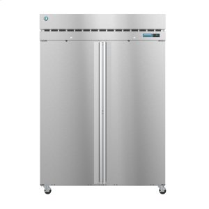 HoshizakiR2A-FS, Refrigerator, Two Section Upright, Full Stainless Doors with Lock