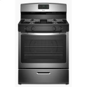 30-inch Gas Range with Easy Touch Electronic Controls - stainless steel Product Image