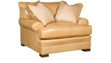 Casbah Leather Chair & 1/2, Casbah Leather Ottoman