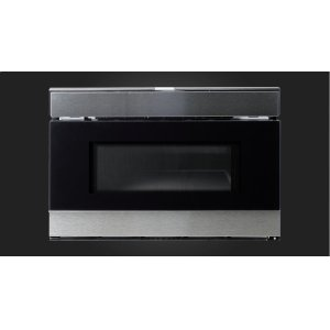 "Fulgor Milano24"" Built-in Drawer Microwave - Stainless Steel"