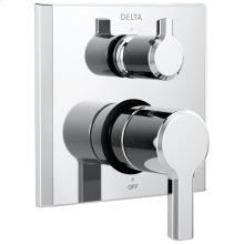 Chrome 2-Handle Monitor ® 14 Series Valve Trim with 3-Setting Diverter