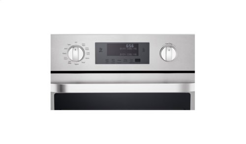 LG STUDIO - 4.7 cu. ft. Single Built-In Wall Oven