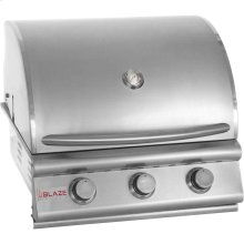 Blaze 25 Inch 3-Burner Grill, With Fuel Type - Natural Gas