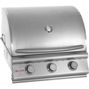 BLAZE GRILLSBlaze 25 Inch 3-Burner Grill, With Fuel Type - Natural Gas