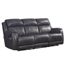 Power Sofa with Power Headrest, Power Lumbar and SoCozi Massage Upgrade