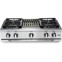 "36"" 6 Burner Gas Rangetop - LP"