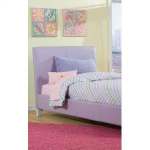 Lavender Upholstered Headboard, 3/3