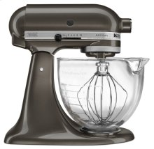 Artisan® Design Series 5 Quart Tilt-Head Stand Mixer with Glass Bowl - Truffle Dust