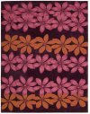 CONTOUR CON16 PLUM RECTANGLE RUG 7'3'' x 9'3''