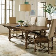 Rectangular Dining Table - Hunt Club Brown Finish Product Image
