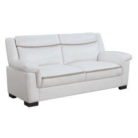 Arabella Contemporary Snow White Sofa