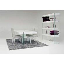Modrest Aura - Modern White Floating Dining Table