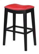 "Emerald Home Briar 30"" Bar Stool Traditional Red D107-30-02 Product Image"