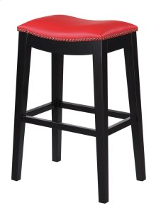 """Emerald Home Briar 30"""" Bar Stool Traditional Red D107-30-02"""