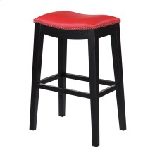 "Emerald Home Briar 30"" Bar Stool Traditional Red D107-30-02"