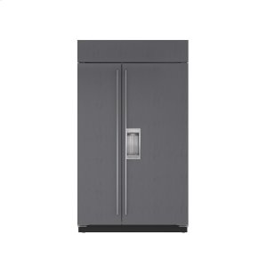 "Subzero48"" Classic Side-by-Side Refrigerator/Freezer with Dispenser - Panel Ready"