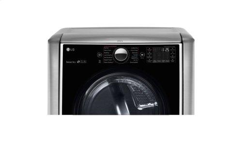 7.4 cu.ft. Ultra Large Capacity TurboSteam Gas Dryer w/ On-Door Control Panel