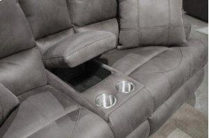 Power Headrest w/Lumbar Pwr Lay Flat Reclining Loveseat