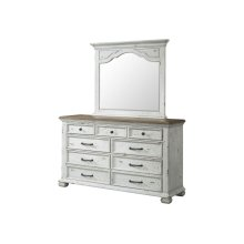 1053 Vintage Revival Dresser with Mirror