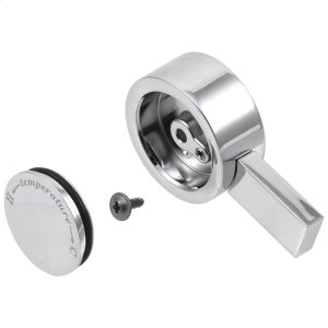 Chrome Temperature Knob & Cover - 17T Series Product Image