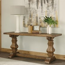 Hawthorne - Console Table - Barnwood Finish-Floor Sample