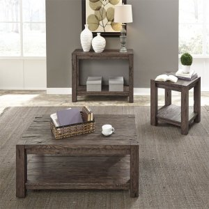 Liberty Furniture Industries3 Piece Set (1-Cocktail 2-End Tables)